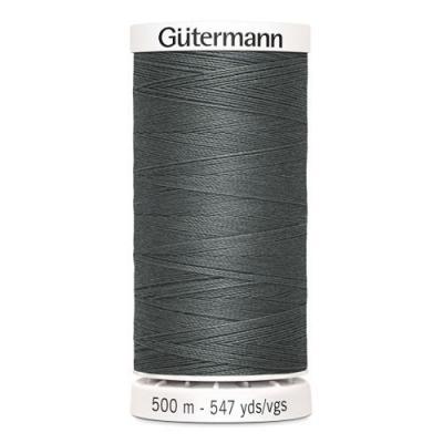 Fil à Coudre 100% Polyester 500m Coloris Gris Foncé 701 Guttermannnn