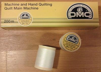 Bobine de Fil à Quilter Main et Machine DMC Blanc