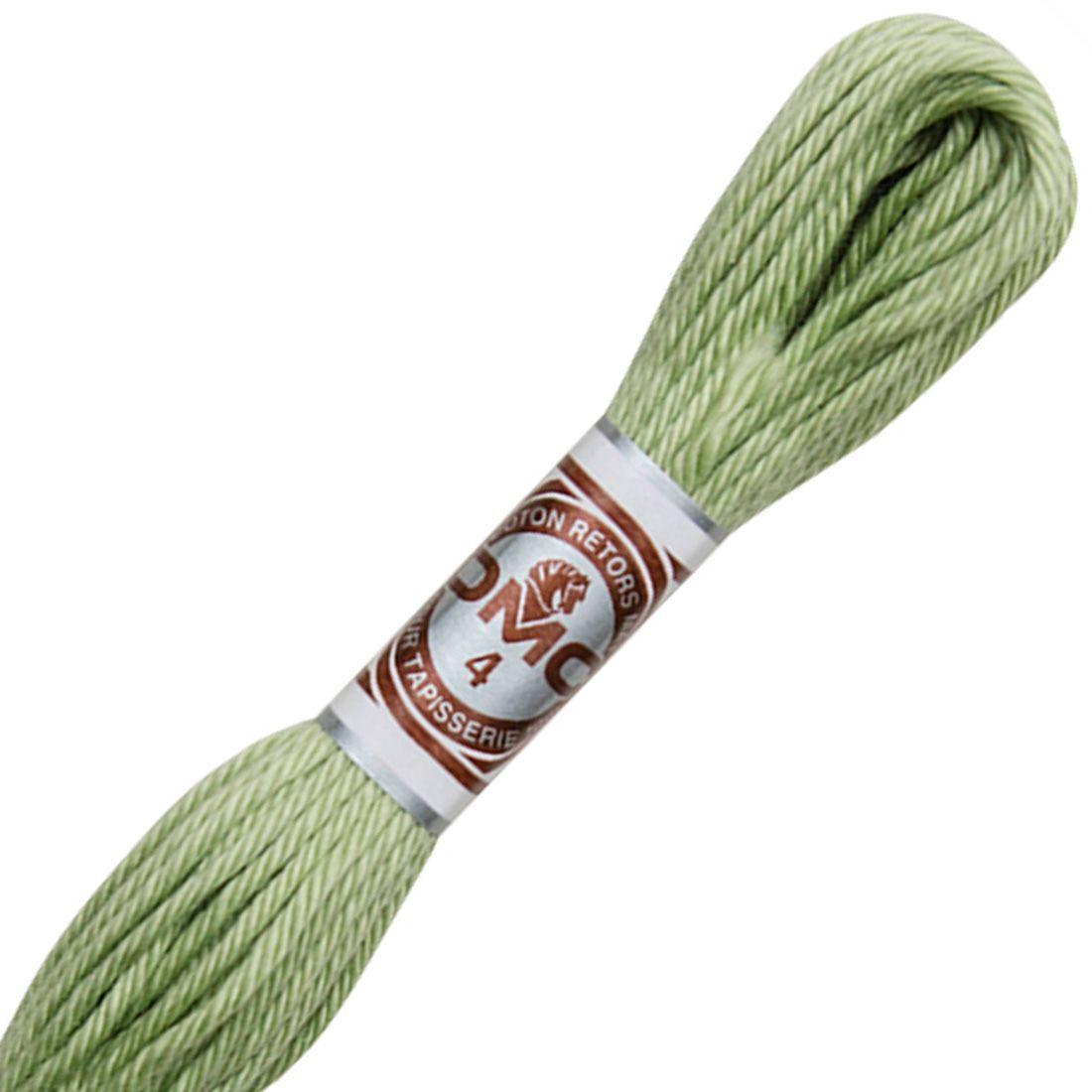Fil retors mat canevas dmc n 2472 vert celeri