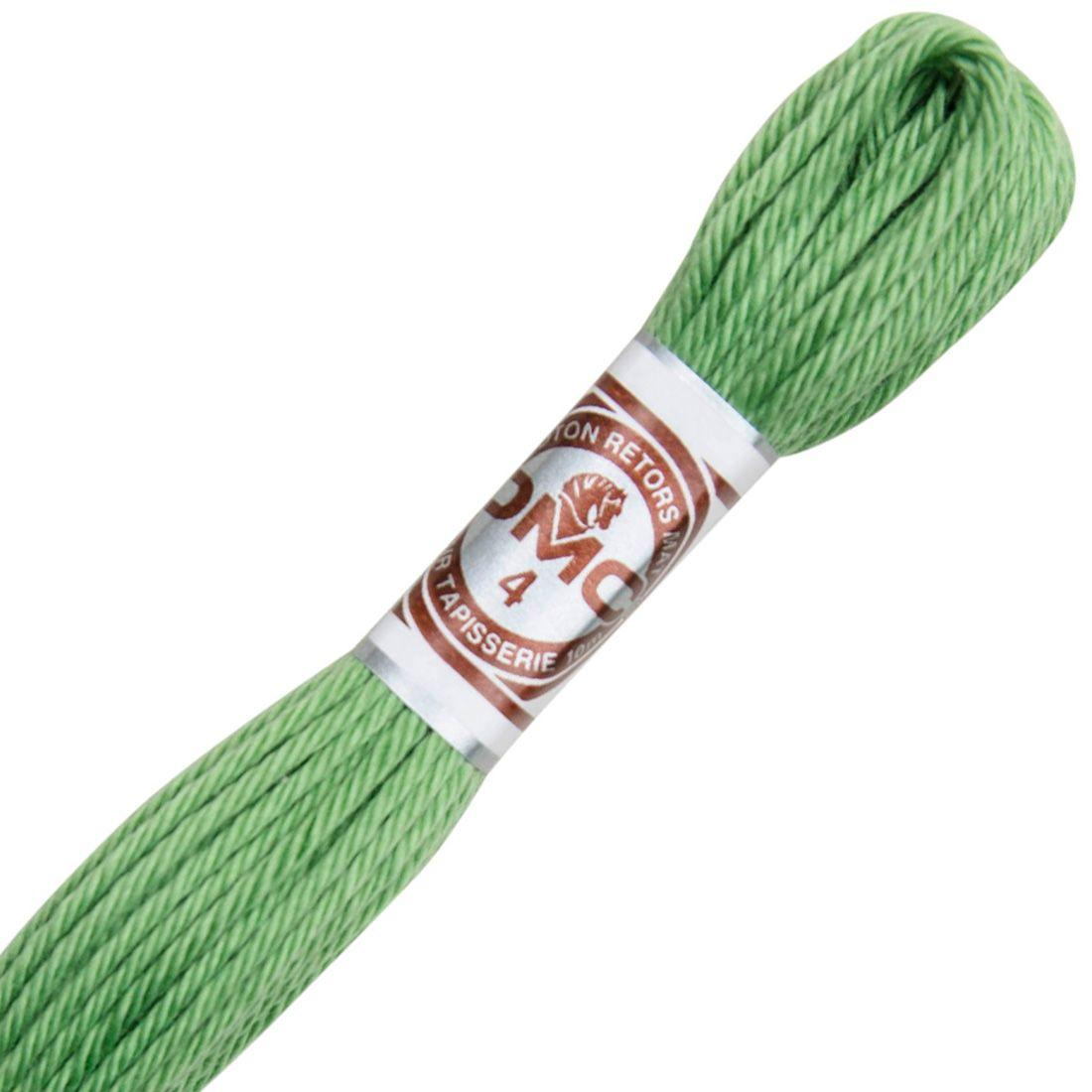 Fil retors mat canevas dmc n 2563 vert fenouil