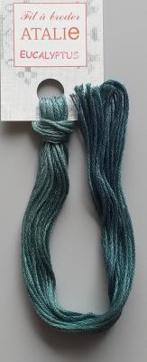 Fils à broder ATALIE - couleur Eucalyptus