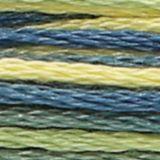 Fils moulines anchor multicolores 1355