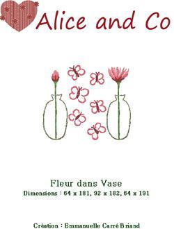 Fleur dans Vase JFV01 Alice and Co