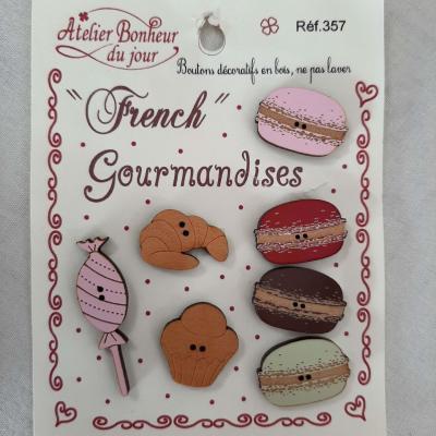 French Gourmandises 357 - Atelier Bonheur du jour
