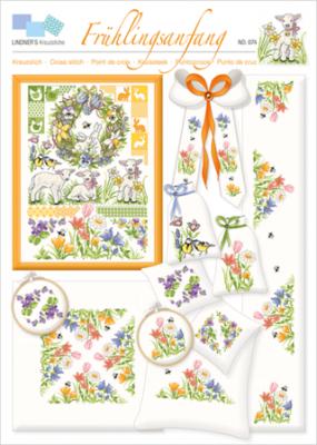 Frühlingsgrüße 023 Lindner's Kreuzstiche