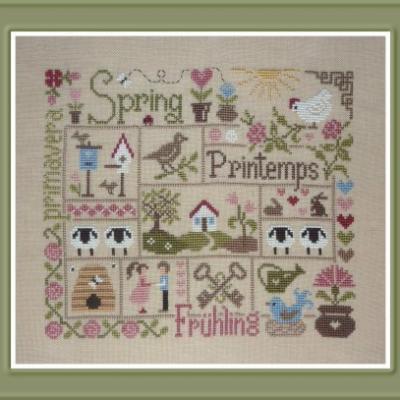 Sampler Printemps FT38 Jardin Privé