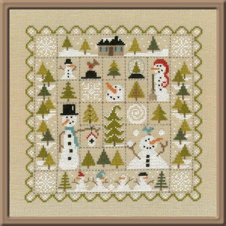 Ft76 patchwork de la neige de jardin prive