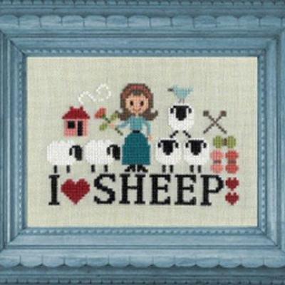 I love Sheep FT84 Jardin Privé