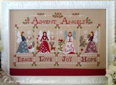 Gli Angeli dell' Avvento Cuore e Batticuore