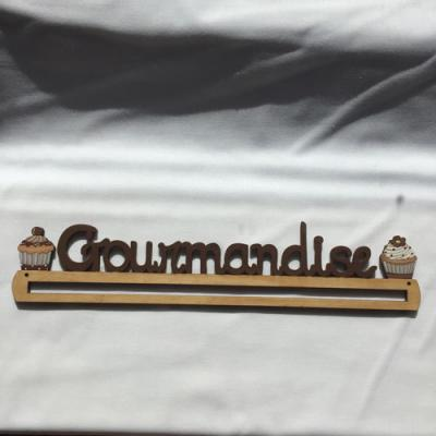 Cintre Gourmandise Chocolat 30cm