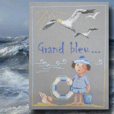 Grand Bleu n° 968 Au Fil de Martine