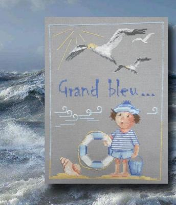 Grand Bleu n° 968 Au Fil de Martine