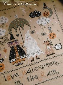 Halloween in the rain 002