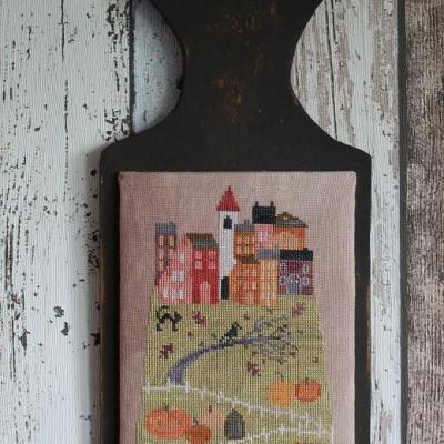 Hilltop Village in Fall T#2003 Thistles