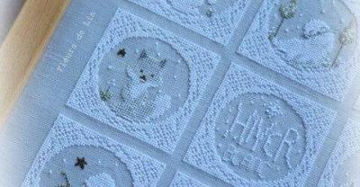Hiver blanc fleurs de lin 5