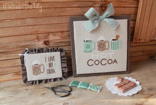 Hot cocoa madame chantilly