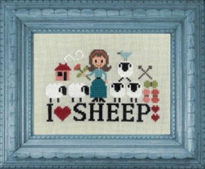 I love Sheep FT 84 Jardin Privé