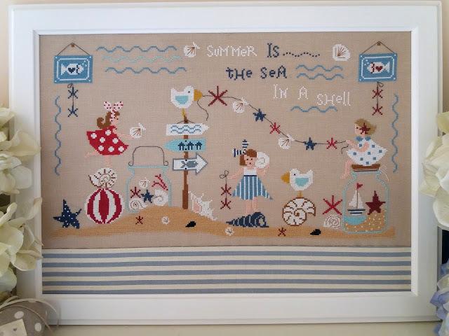 Il mare in inu conchiglia