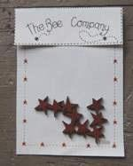 Lot de 9 Étoiles Bordeaux TB88 The Bee Company