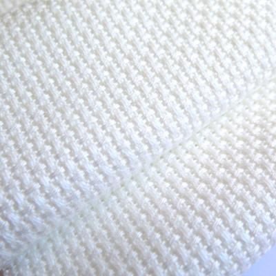 Coupon toile Aida Country 3970 2,8pts Blanc 70x90cm pour la fiche de Lilipoints B025 et B029