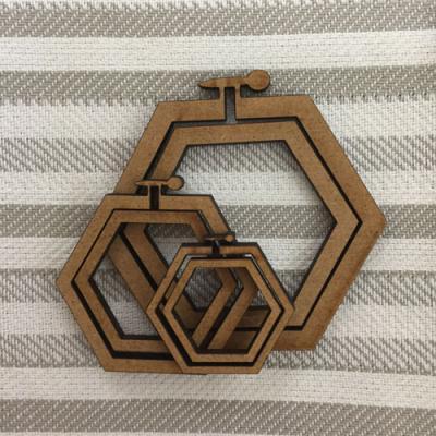 Mini-Cadre Hexagonale