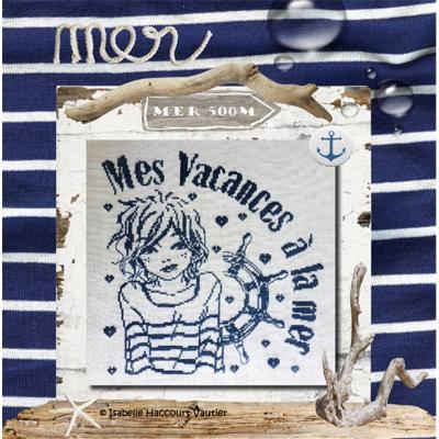 Mes Vacances à la Mer RV269 Isabelle Haccourt Vautier