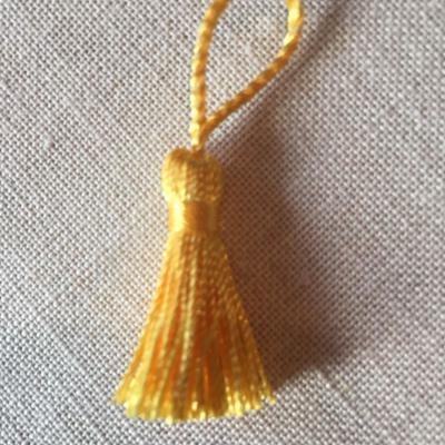 Pompon JAUNE  3.5 cm