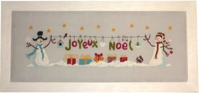 Message de Noël FT58 Jardin Privé