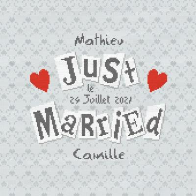 Just Married M018 Lilipoints