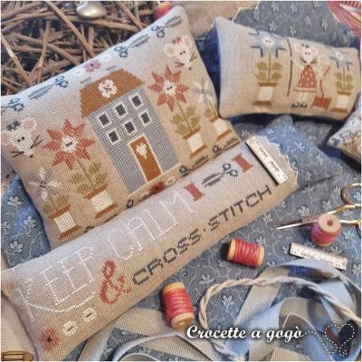 Keep Calm & cross stitch Crocette a gogò