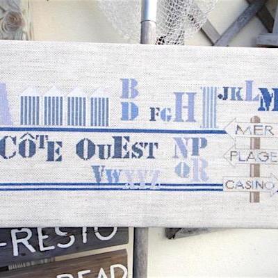 Kit Abécédaire Côte Ouest DMC BK1600