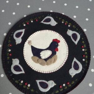 Kit candle mat poulette carrement piquee