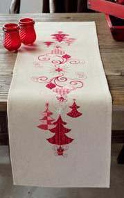 Kit chemin de table decorations de noel pn 0144712 1