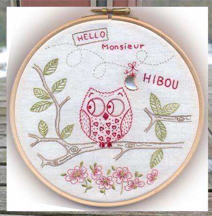 Kit monsieur hibou msu001 marie suarez