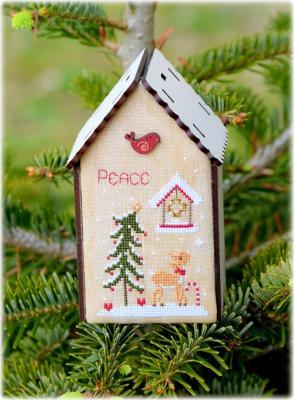 Kit nichoir peace christmas the bee company ref 164