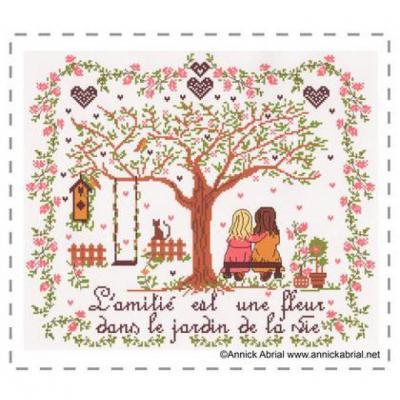 L' amitié est une fleur... Annick Abrial