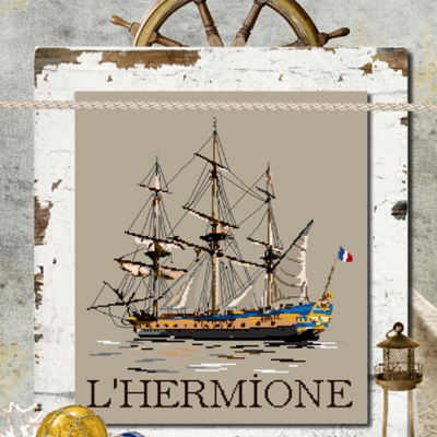 L'Hermione ISA40 Isabelle Haccourt Vautier