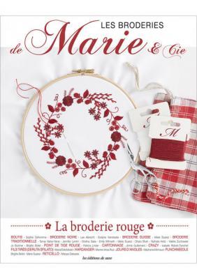 Les broderies de Marie & Cie n°13 - La broderie rouge