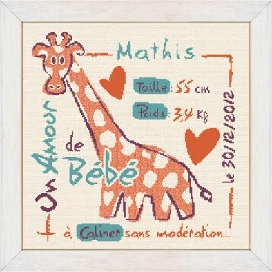 La girafe B008 Lilipoints