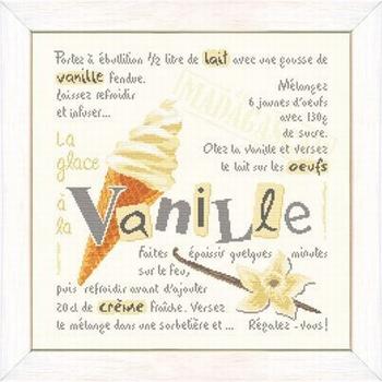 La glace a la vanille g033
