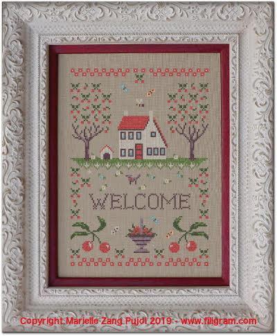 La maison aux cerises f138 filigram