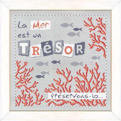 La mer est un trésor A015 Lilipoints