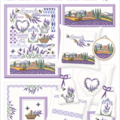 Lavande de Provence 080 Lindner's Kreuzstiche