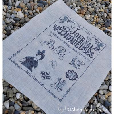 Le Journal des Brodeuses : 6005 Histoires de Lin