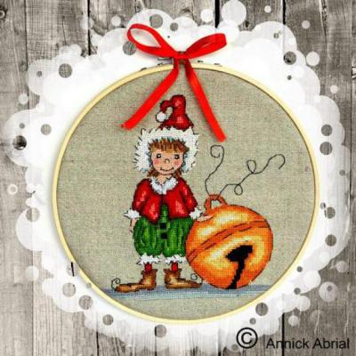 Le Petite Lutin de Noël Annick Abrial