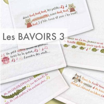 Les bavoirs 3 B028 Lilipoints