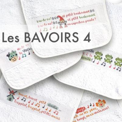 Les bavoirs 4 B030 Lilipoints