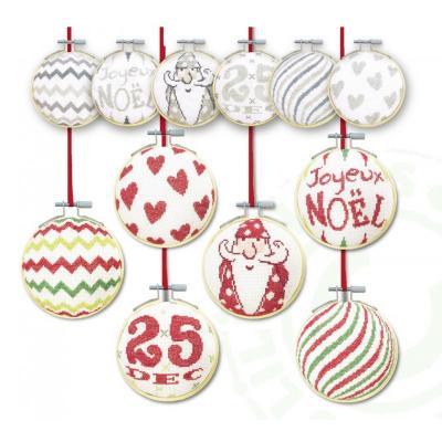 Les Boules de Noël 3 N039 Lilipoints