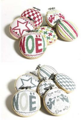 Les Boules de Noël 4 N040 Lilipoints