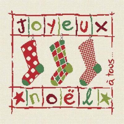 Les Chaussettes de Noël N019 Lilipoints